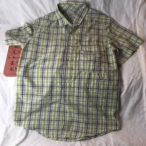 Craghoppers Camp Hike Fish Green Plaid Check